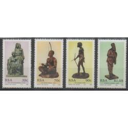 Afrique du Sud - 1992 - No 772/775 - Art