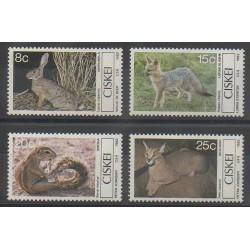 Afrique du Sud - Ciskey - 1982 - No 30/33 - Mammifères