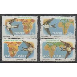 Afrique du Sud - Ciskey - 1984 - No 61/64 - Oiseaux