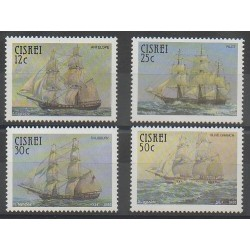 Afrique du Sud - Ciskey - 1985 - No 83/86 - Navigation