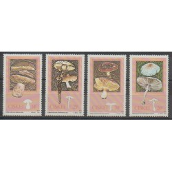 South Africa - Ciskey - 1987 - Nb 110/113 - Mushrooms