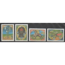 Afrique du Sud - Ciskey - 1987 - No 199/202 - Enfance