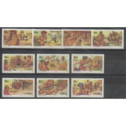 South Africa - Ciskey - 1988 - Nb 131/140 - Folklore