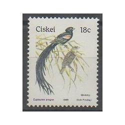 Afrique du Sud - Ciskey - 1989 - No 157 - Oiseaux