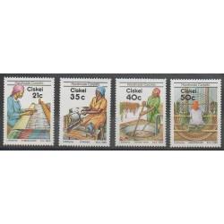 Afrique du Sud - Ciskey - 1990 - No 170/173 - Artisanat ou métiers