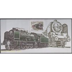 France - Bloc souvenir - 2012 - No BS 68 - Trains