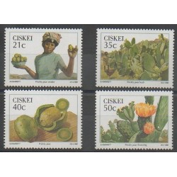 South Africa - Ciskey - 1990 - Nb 179/182 - Fruits or vegetables