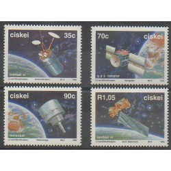 South Africa - Ciskey - 1992 - Nb 215/218 - Telecommunications