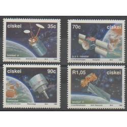 Afrique du Sud - Ciskey - 1992 - No 215/218 - Télécommunications