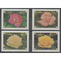 South Africa - Ciskey - 1994 - Nb 249/252 - Roses