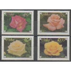 Afrique du Sud - Ciskey - 1994 - No 249/252 - Roses