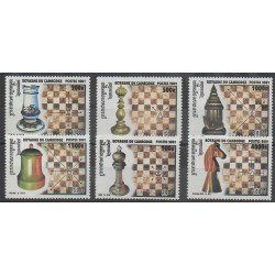 Cambodia - 2001 - Nb 1890/1895 - Chess