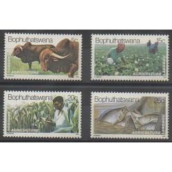 Afrique du Sud - Bophuthatswana - 1979 - No 51/54 - Artisanat ou métiers
