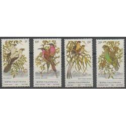 Afrique du Sud - Bophuthatswana - 1980 - No 60/63 - Oiseaux