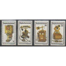 Afrique du Sud - Bophuthatswana - 1981 - No 76/79 - Télécommunications
