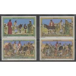 Afrique du Sud - Bophuthatswana - 1983 - No 104/107 - Pâques