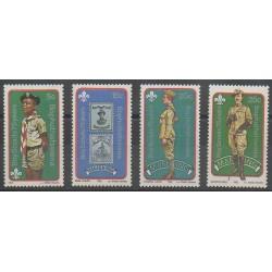 Afrique du Sud - Bophuthatswana - 1982 - No 84/87 - Scoutisme