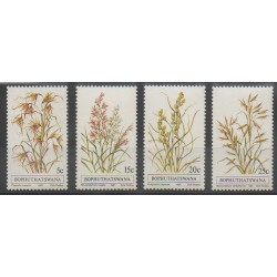South Africa - Bophuthatswana - 1981 - Nb 80/83 - Flora