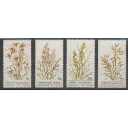 Afrique du Sud - Bophuthatswana - 1981 - No 80/83 - Flore