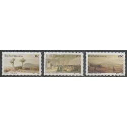 Afrique du Sud - Bophuthatswana - 1986 - No 170/172 - Peinture