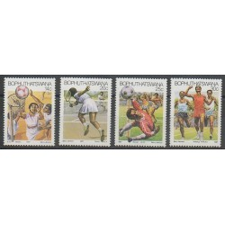South Africa - Bophuthatswana - 1987 - Nb 181/184 - Various sports