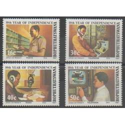 Afrique du Sud - Bophuthatswana - 1987 - No 194/197 - Histoire