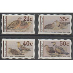 South Africa - Bophuthatswana - 1990 - Nb 239/242 - Birds