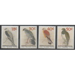 Afrique du Sud - Bophuthatswana - 1989 - No 223/226 - Oiseaux