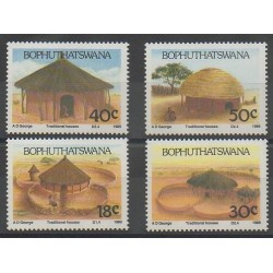 South Africa - Bophuthatswana - 1989 - Nb 227/230