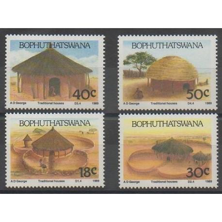 Afrique du Sud - Bophuthatswana - 1989 - No 227/230