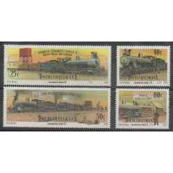 Afrique du Sud - Bophuthatswana - 1991 - No 265/268 - Chemins de fer