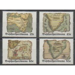 Afrique du Sud - Bophuthatswana - 1992 - No 273/276