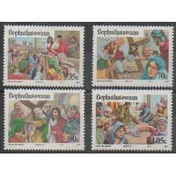 Afrique du Sud - Bophuthatswana - 1993 - No 294/297 - Pâques