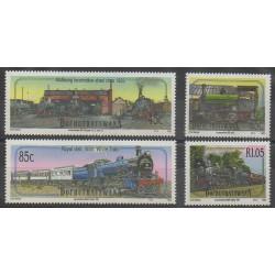 Afrique du Sud - Bophuthatswana - 1993 - No 298/301 - Chemins de fer