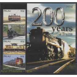 Palau - 2004 - No 2108/2111 - Trains
