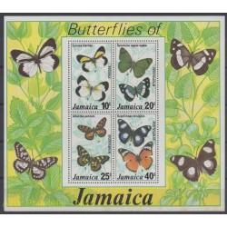 Jamaica - 1977 - Nb BF 10 - Butterflies
