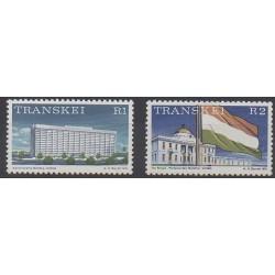 Afrique du Sud - Transkei - 1976 - No 16/17 - Monuments