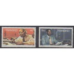 Afrique du Sud - Transkei - 1977 - No 28/29 - Télécommunications