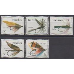 Afrique du Sud - Transkei - 1980 - No 65/69 - Artisanat ou métiers