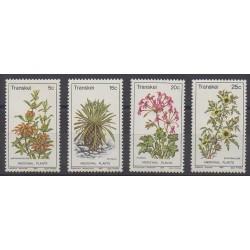 Afrique du Sud - Transkei - 1981 - No 88/91 - Fleurs