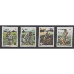 South Africa - Transkei - 1982 - Nb 103/106 - Scouts