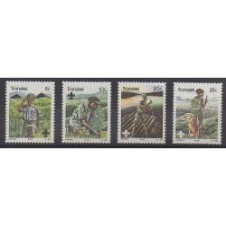 Afrique du Sud - Transkei - 1982 - No 103/106 - Scoutisme