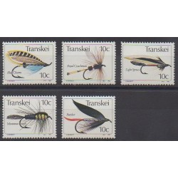 Afrique du Sud - Transkei - 1982 - No 98/102 - Artisanat ou métiers