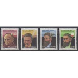 Afrique du Sud - Transkei - 1984 - No 159/162 - Santé ou Croix-Rouge