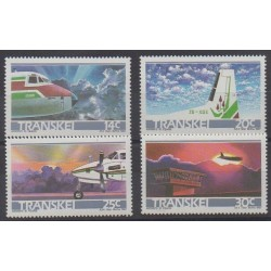 South Africa - Transkei - 1987 - Nb 197/200 - Planes