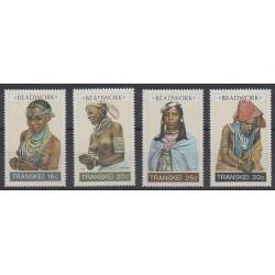 Afrique du Sud - Transkei - 1987 - No 202/205 - Costumes
