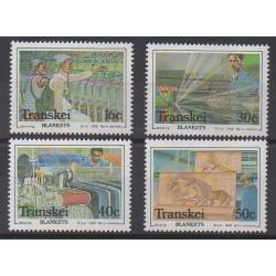 Afrique du Sud - Transkei - 1988 - No 218/221 - Artisanat ou métiers