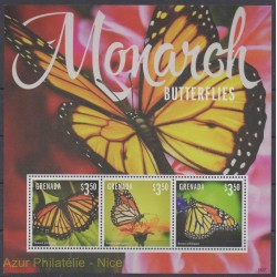 Grenade - 2014 - Nb 5664/5666 - Butterflies