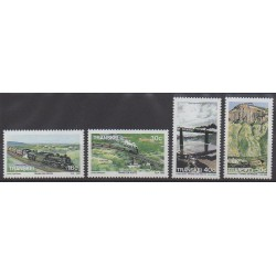 Afrique du Sud - Transkei - 1989 - No 230/233 - Chemins de fer