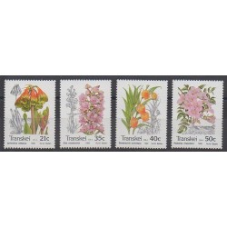 Afrique du Sud - Transkei - 1990 - No 259/262 - Fleurs